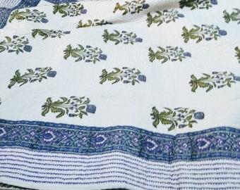 Quilt Cotton Blanket- Full Size