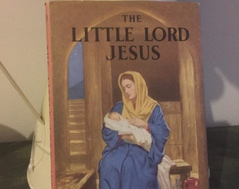"Vintage 60s ladybird book ""the little lord jesus """