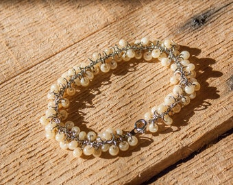 Bead Clustered Bracelet
