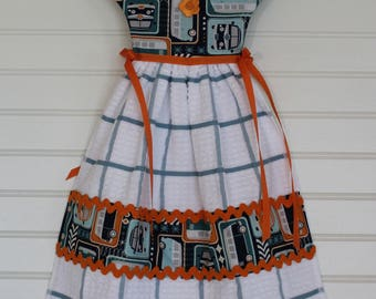Kitchen Towel Dress With VW Buses