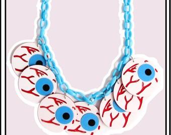 Eyeballin' Necklace