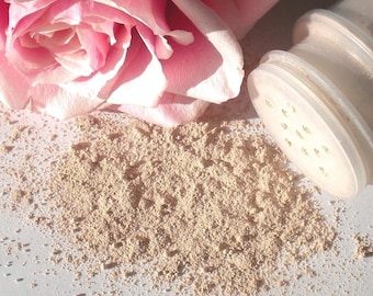 Organic Rose Face Cleanser, Gently Exfoliate and Purify, All Natural, VEGAN - SAMPLE SIZE - On Sale