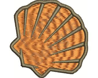 Sea Shell - Machine Embroidery Design
