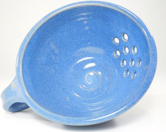 Berry Bowl - Drainer Dish - Pottery Colander - Colander - Strainer - Berry Colander - Ceramic Strainer - Berry Basket - In Stock