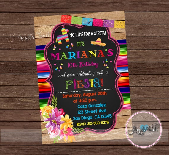 Invitación de la fiesta Fiesta cumpleaños invitación fiesta