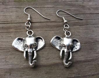 Elephant Earrings Sensitive Ears