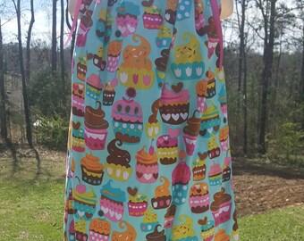 Pillowcase dress pillow case dress cupcake dress cupcakes dress girls dress