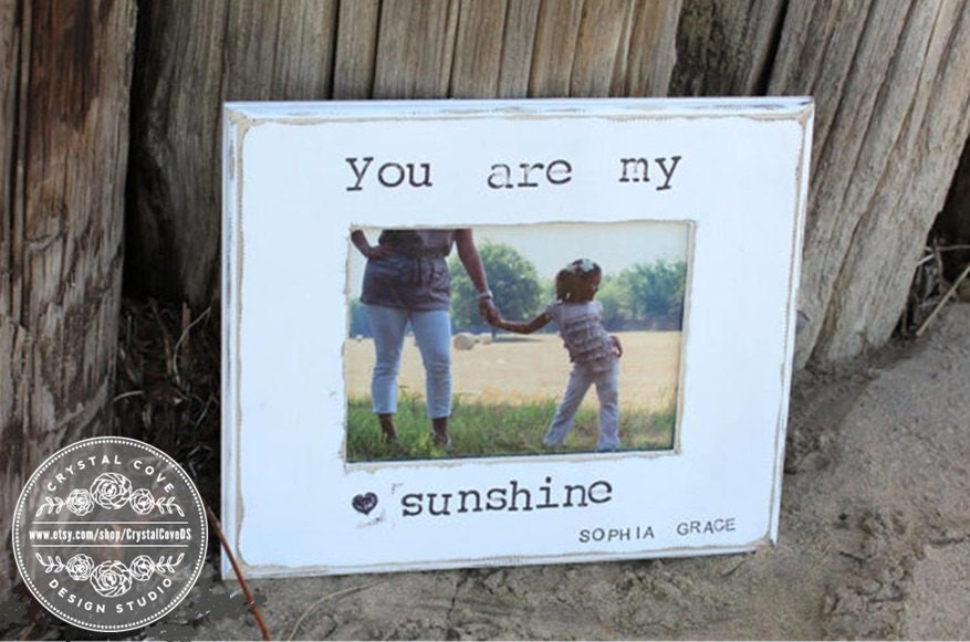 Personalized Mother Daughter Picture Frame Gift \'You Are