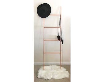 Copper Pipe Blanket Ladder 4 Rung