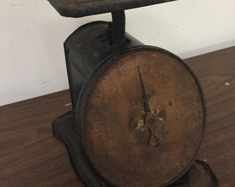 Vintage Columbia Family Kitchen Scale Farmhouse