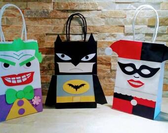 Bat Man Goody Bags/ Bat-Man Party Theme