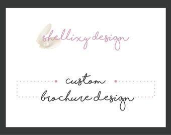 Custom Graphic Design Brochure Design