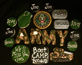 Army/USMC Boot Camp Cookie gift box