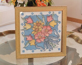 Antique Embroidery Panel