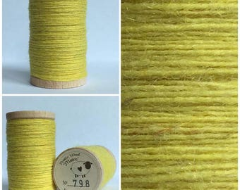 Rustic Moire Wool Thread #798 for Embroidery, Wool Applique and Punch Needle Embroidery