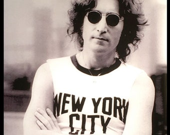 John Lennon New York Sticker