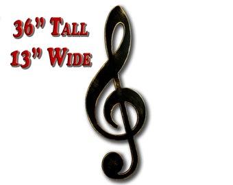 Treble Clef Music Gift Musical Theater Music Art Gifts Musicians Music Wall Art Music Decor Music Room Decor Music Teacher Gift Musical Gift