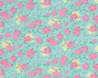 78073 - 1/2 yard of Verna Mosquera Snapshot collection Rosebuds in Pose