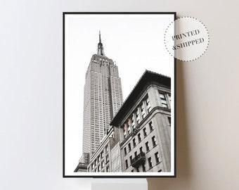 Empire State Building, Architecture, Art Deco, Skyscraper, New York Print, Urban Print, Modern Print, Cool Print, Photography Print,Wall Art
