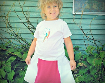 My Little Pony Skirt and cutie t shirt Rainbow Dash Equestria girls MLP FiM Cosplay kids or adult
