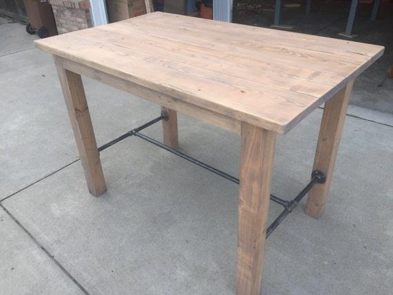Rustic Industrial Standing Desk / Bar Table