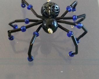 Black beaded spider