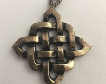 Celtic Knot/ Irish Jewelry / Druid Pendant