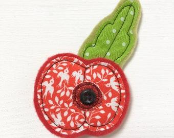 Handmade Poppy Brooch - Poppy Brooch - Brooch - Brooch Gift - Poppy Pin - Poppy Pin Brooch - Pin Brooch - Poppy Brooch Gift - Poppy Appeal