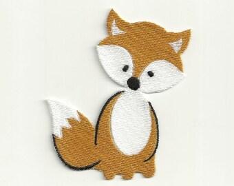 Cute Fox Patch Custom Made!