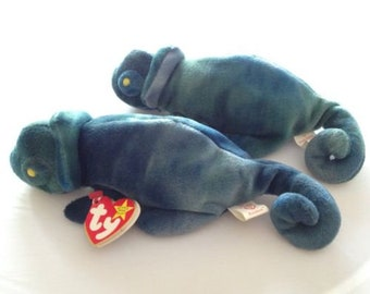Beanie Babies Rainbow Set of Two (2) With Tags