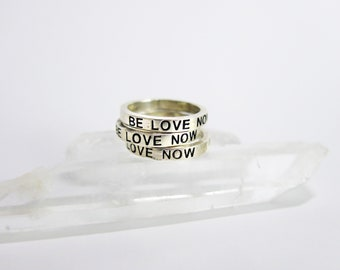 Be Love Now- Stacker Ring