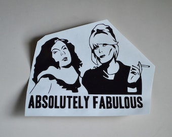 Absolutely Fabulous Sticker