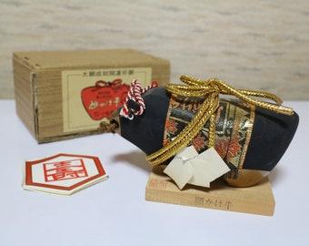Good Fortune ornament GANKAKEUSHI vintage Japanese good luck ornament