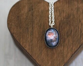 Orion, Orion Nebula, Orion Nebula Necklace, Orion Necklace, Orion Pendant, Nebula Necklace, Space, Space Jewelry, Galaxy, Solar System
