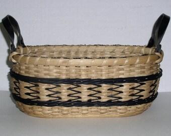 Digital Download, Instructions to Weave the Arrows Bread Basket, Pattern