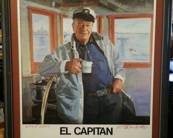 "John Wayne's ""El Capitan"" by Frank M. Tauriello.  #222/1000"