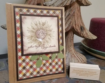 Stampin Up Fall Thanksgiving Painted Harvest greeting card