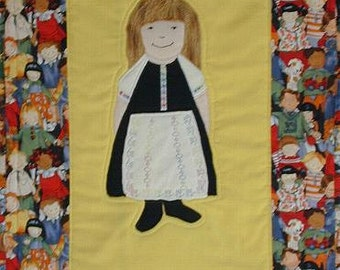International Adoption Quilt Patterns - Russian Girl