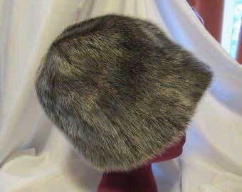 Vintage Mr John Fur Hat