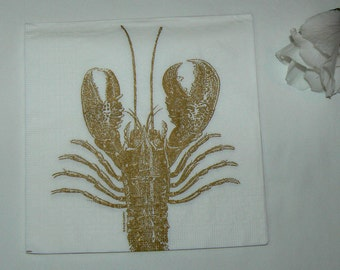 2  images Napkins from Holland Lobster