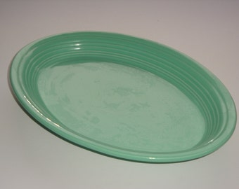 Fiestaware Sea Mist (Newer) Large Size Platter by Homer Laughlin