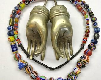 Kafir Glass Beads
