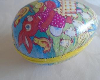 vintage cardboard egg