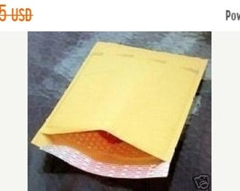 TAX SEASON Stock up 50 Pack Bubble Lined 5X8.5 Inch Size 00 Mailing Envelopes Wholesale Packaging