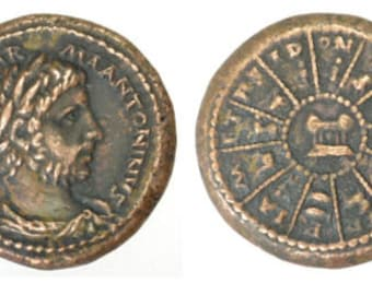 medallion solidus stock in emperor ad roman siscia minted coin photo double golden reign of constans i the