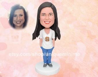 Custom Bobblehead dolls / Girlfriend Gift/ Custom gift for her/ doll for her/ Custom gift / Valentines   gift for her