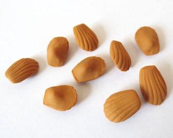 20 x miniature greedy Artisanales Madeleines 10 mm (M)
