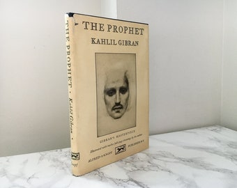 The Prophet by Kahlil Gibran (1965 Hardcover Printing)