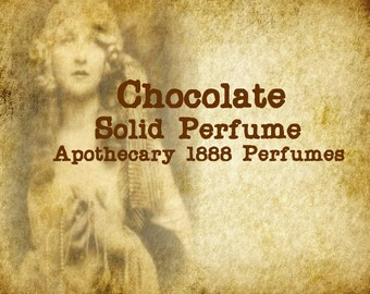 Chocolate Solid Perfume