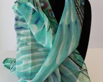 Traditional Medium Silk Scarf